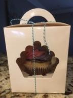 Vanilla Chocolate swirl cupcake with triple swirl butter cream